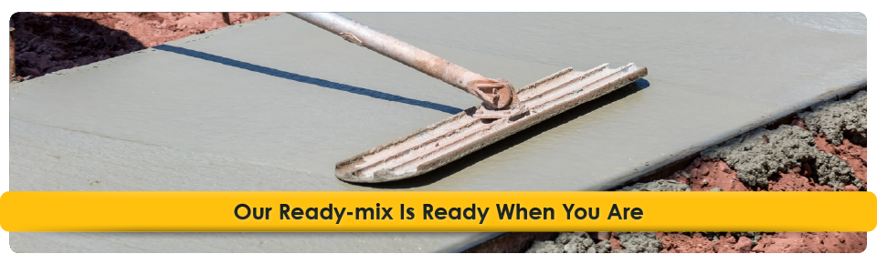 Our Ready-mix Is Ready When You Are | layering